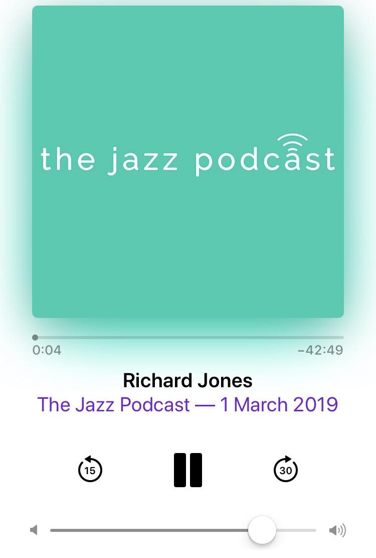 Richard Jones | Jazz Violin | News
